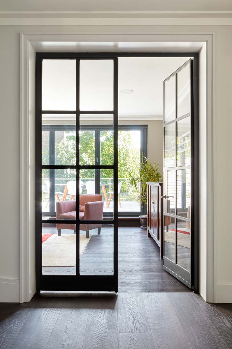 Crittall W20 internal double doors
